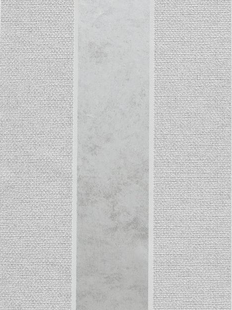 arthouse-calico-stripe-grey-wallpaper