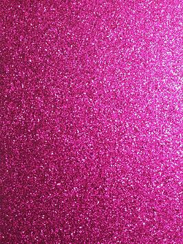 Product photograph showing Arthouse Sequin Sparkle Hot Pink Wallpaper