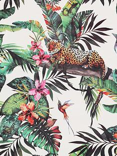 arthouse-animal-jungle-white-multi-wallpaper