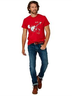 joe-browns-guitar-manual-t-shirt-red