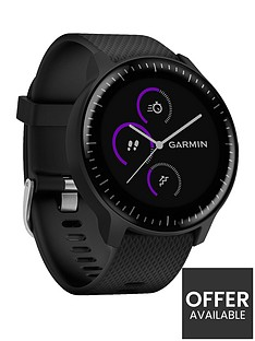 garmin-vivoactive-3-music-gps-smartwatch-with-built-in-sports-apps-and-heart-rate-black-with-stainless-hardware
