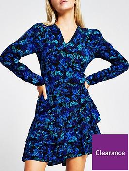 ri-petite-floral-ruffle-hem-tea-dress-blue