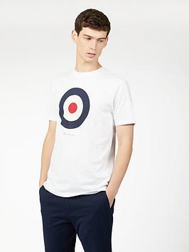 ben-sherman-signature-target-t-shirt-white