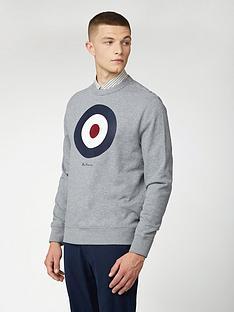 ben-sherman-signature-target-sweatshirt-grey