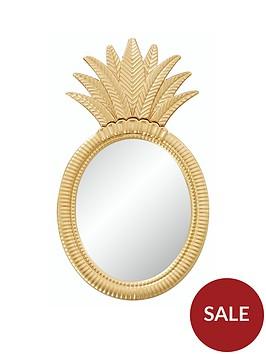 pineapple-mirror
