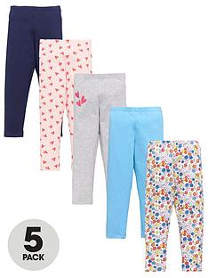 mini-v-by-very-girls-5-pack-heart-floral-leggings-multi