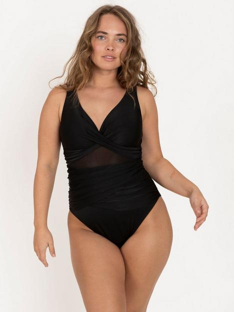dorina-aqua-slim-tummy-control-non-padded-swimsuit-black