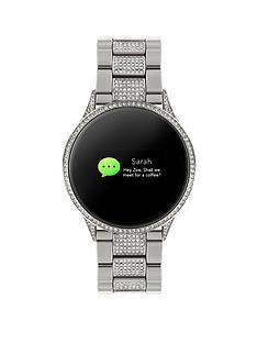 reflex-active-reflex-active-series-4-smart-watch-with-colour-touch-screen-and-glitz-stainless-steel-bracelet