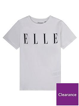 elle-girls-logo-t-shirt-white