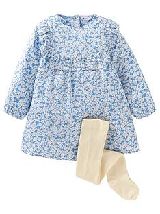 mini-v-by-very-girls-2-piecenbspfloral-long-sleeve-dress-and-tights-set-multi