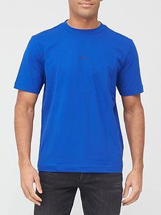 boss-tchup-centre-logo-t-shirt-blue