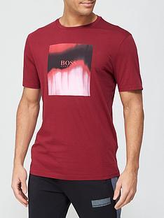 boss-tiris-dip-dye-logo-t-shirt-burgundy