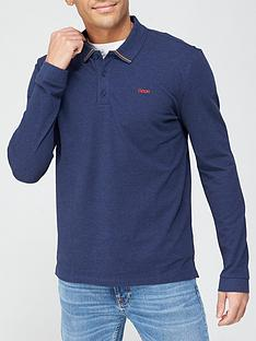 hugo-donol-211-long-sleeve-polo-shirt-dark-blue