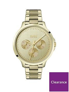 hugo-desire-multi-dial-gold-tone-bracelet-ladies-watch