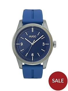 hugo-create-blue-dial-blue-strap-mens-watch