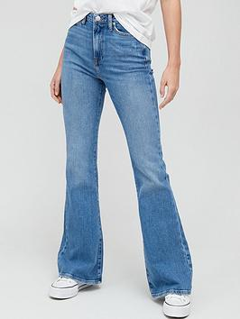v-by-very-forever-flare-jean-mid-wash