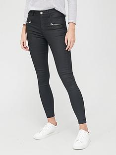 v-by-very-ella-high-waist-coated-skinny-jean-black