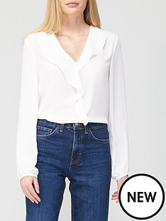 v-by-very-open-collar-frill-blouse-ivory