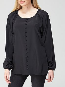v-by-very-value-button-through-shell-top-blacknbsp