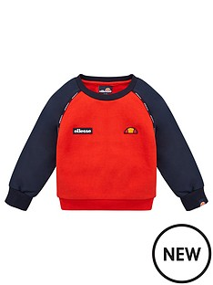 ellesse-infant-boys-zaphanbspsweatshirt-red