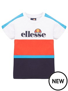 ellesse-boys-ardinta-infant-t-shirt-whiterednavy
