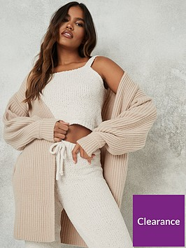 missguided-missguided-tuck-sleeve-cardigan-stone