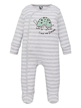 mini-v-by-very-baby-unisex-i-love-grandad-tortoise-sleepsuit-multi