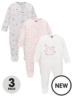 mini-v-by-very-baby-girls-rabbit-and-rainbow-sleepsuits-3nbsppacknbsp-multi