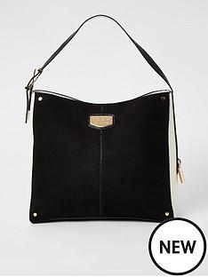 river-island-padlock-side-slouch-bag-black