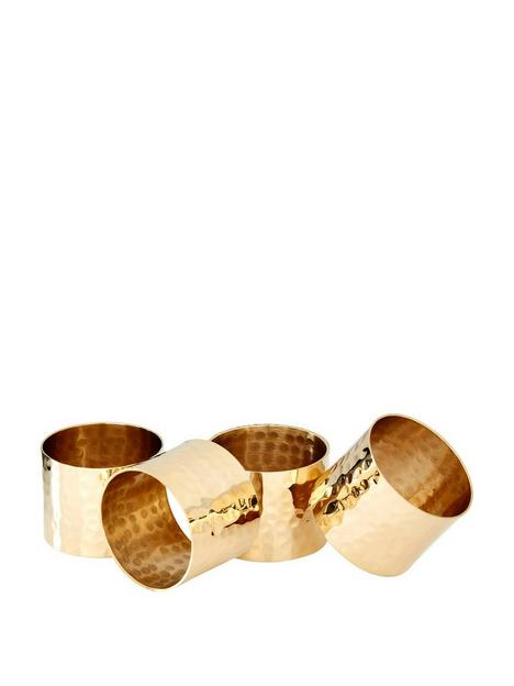 premier-housewares-hammered-napkin-rings