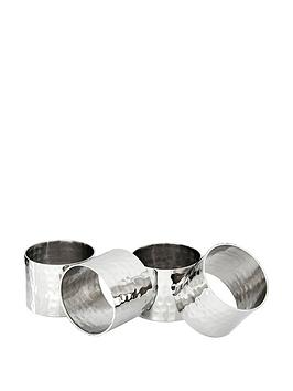 premier-housewares-hammered-napkin-rings