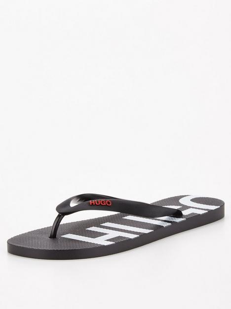 hugo-onfire-flip-flops-blacknbsp