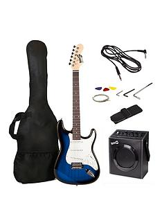 rockjam-electric-guitar-pack--blue-burst