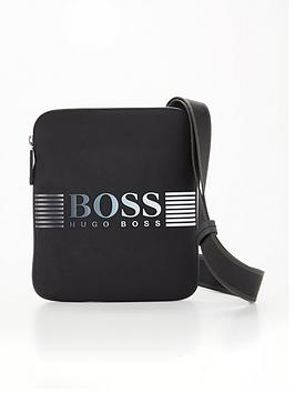 boss-pixel-logonbspcross-body-bag-black