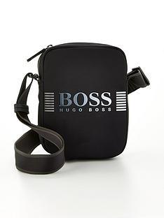 boss-pixel-logonbspwide-cross-body-bag-black