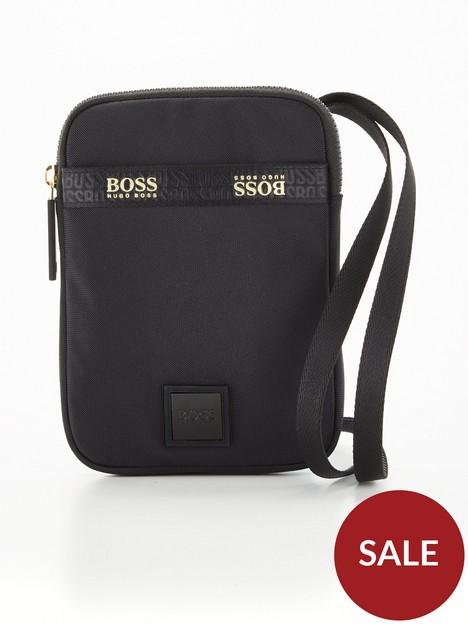 boss-pixel-g-neck-pouch-mini-bag-blackgold
