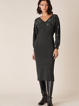 monsoon-scatter-star-heat-seal-knitted-dressnbsp-charcoal