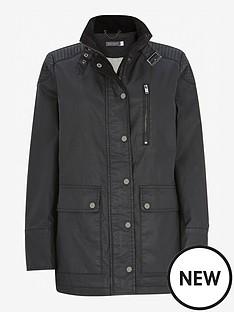 mint-velvet-longline-wax-jacket-black