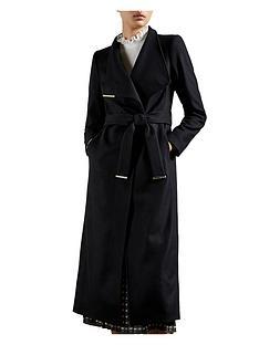 ted-baker-long-length-wool-wrap-coat-black