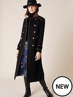 monsoon-maddie-military-coat-black