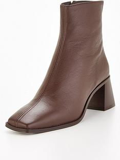 office-abbie-ankle-boot-chocolate