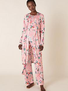 monsoon-floral-print-jersey-short-robe-pink
