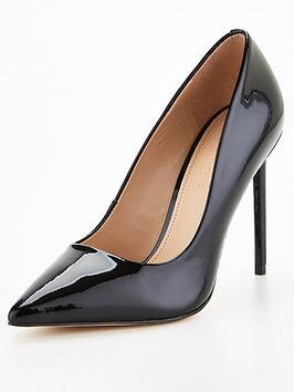office-harlem-heeled-shoe-black
