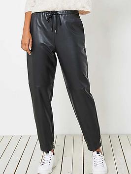 mint-velvet-faux-leather-joggers-black