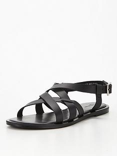 v-by-very-cancun-leather-strappy-flat-sandal-black