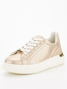 office-fuse-lace-up-trainer-metallic