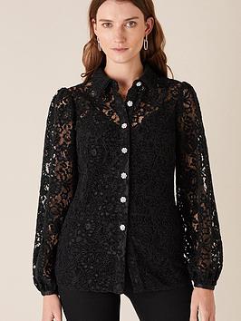 monsoon-francesca-flocked-lace-shirt