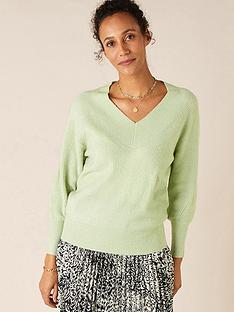 monsoon-ribbed-v-neck-jumper