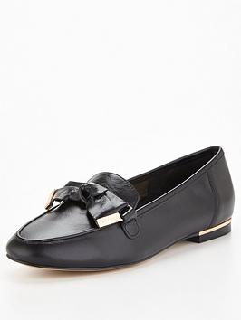 office-bow-detail-loafer-black