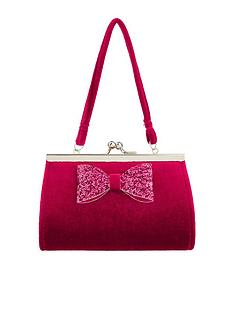 monsoon-girls-sparkle-bow-mini-bag-red